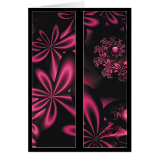 Passion Flowers Bookmark Card