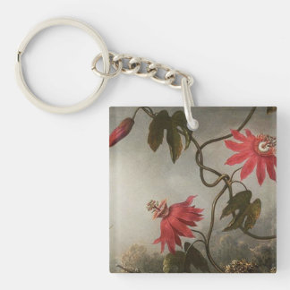 Passion Flowers Keychain
