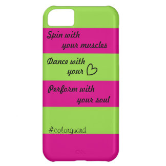 Passion for Colorguard Case For iPhone 5C