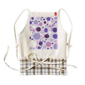 Passion For Purple Zazzle HEART Apron
