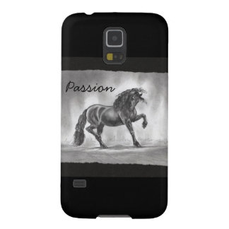 Passion Freisian Horse Galaxy S5 Phone Case