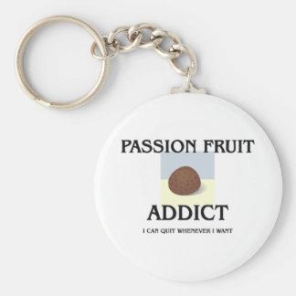 Passion Fruit Addict Basic Round Button Keychain
