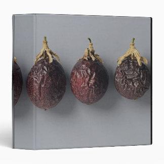 Passion fruit aging 3 ring binder