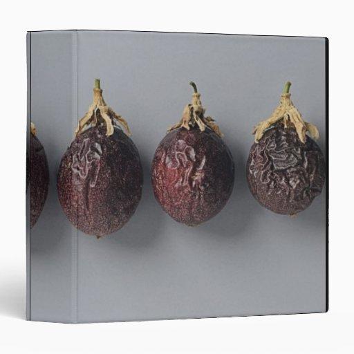 Passion fruit aging binder