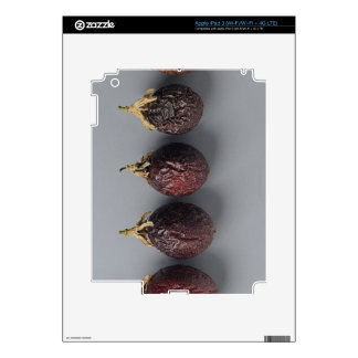 Passion fruit aging iPad 3 decals