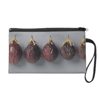 Passion fruit aging wristlet purse