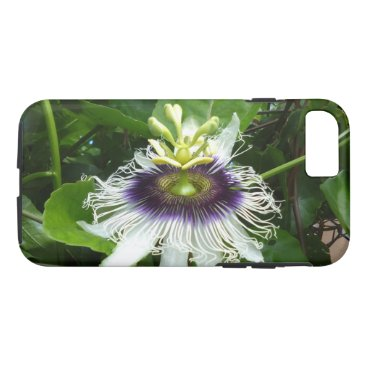 USA Themed PASSION FRUIT FLOWER iPhone 8/7 CASE