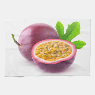 Passion fruits hand towel