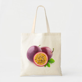 Passion fruits tote bag
