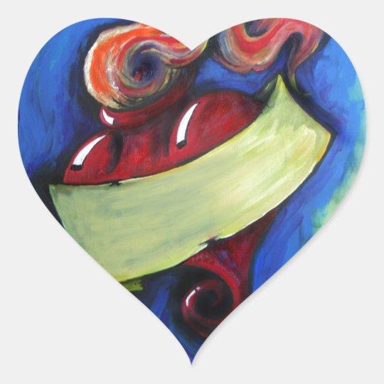 Passion Heart Sticker