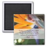 Passion in Paradise Christian Wedding Favor Refrigerator Magnets