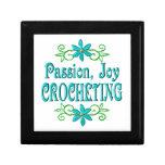 Passion Joy Crocheting Keepsake Boxes