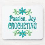 Passion Joy Crocheting Mouse Pad