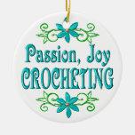 Passion Joy Crocheting Ornament