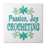 Passion Joy Crocheting Tile