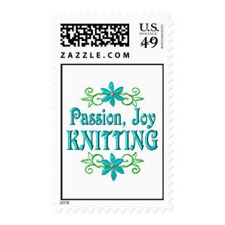 Passion Joy Knitting Stamp