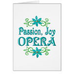 Passion Joy Opera Greeting Card