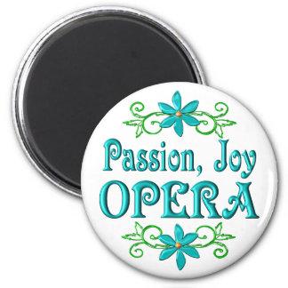 Passion Joy Opera Refrigerator Magnets