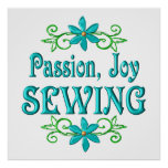 Passion Joy Sewing Posters