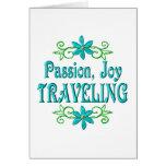 Passion Joy Traveling Greeting Card