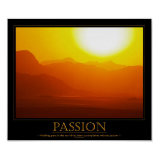 Passion Motivational Poster
