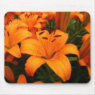 Passion - Orange Lilies Mousepad