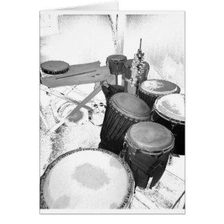 passion percussion card