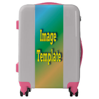Passion Pink Create Your Own Custom Luggage