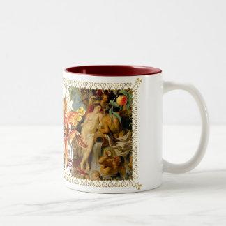 Passion Range Art Decor Gear Two-Tone Coffee Mug