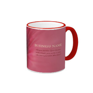 Passion Red Flower Mugs