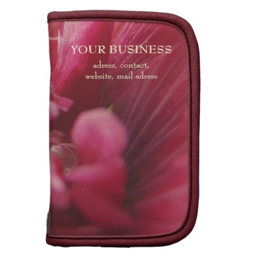 Passion Red Flower Organizers