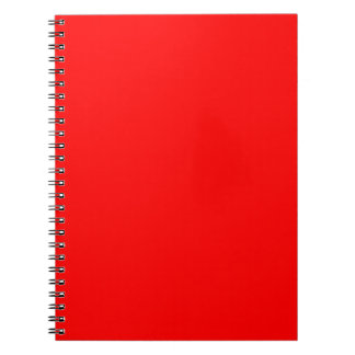 Passion Red Notebook
