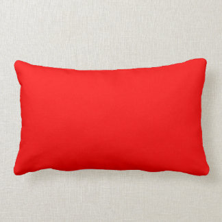 Passion Red Throw Pillows