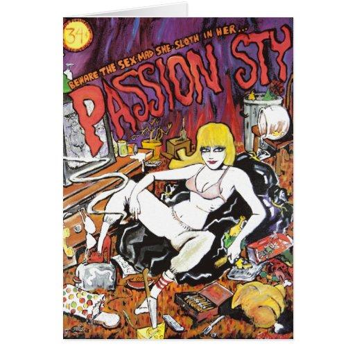 Passion Sty Card (blank inside)