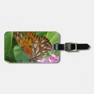Passion Vine Butterfly Bag Tag