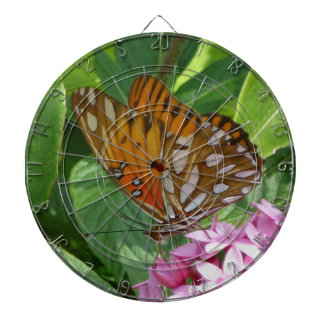 Passion Vine Butterfly Dartboard With Darts