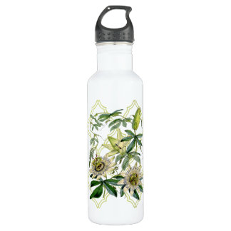 Passion Vine Stainless Steel Water Bottle