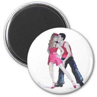 Passionate Dancers Strictly Come Dancing 2 Inch Round Magnet