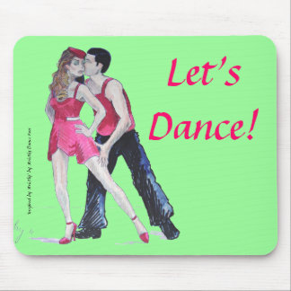 Passionate Dancers Strictly Come Dancing Mouse Pad