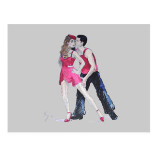 Passionate Dancers Strictly Come Dancing Postcard