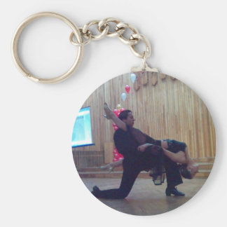 Passionate Dancing Couple Key Chain