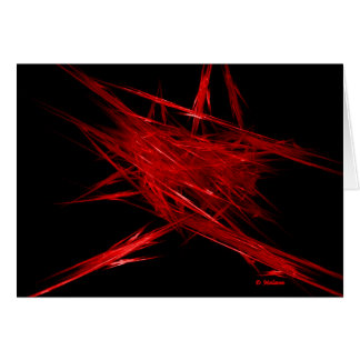Passionate Embers Greeting Card