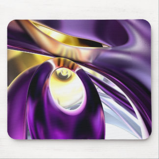 Passionate Orchid Abstract Mouse Pad