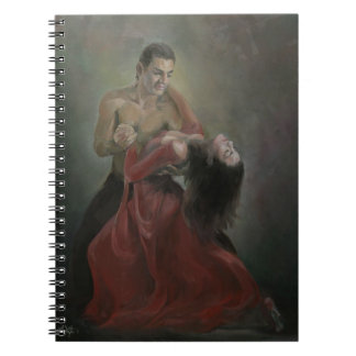 Passionate Paso Doble Notebook