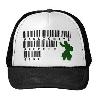 Passionate Prepper Girl Trucker Hat