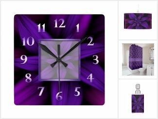 Passionate Purple Floral