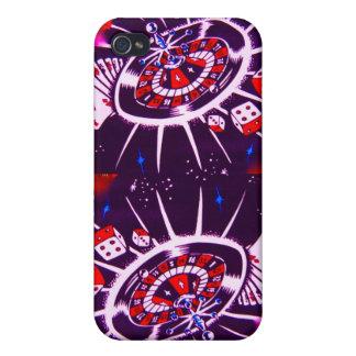 Passionate Purple Las Vegas iPhone 4 Covers