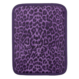 Passionate Purple Leopard Skin Sleeve For iPads