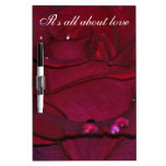 Passionate Red Rose Dry-Erase Boards