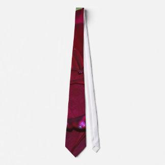 Passionate Red Rose Tie